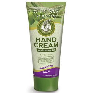 Hand Cream Silk Athenas Treasures 60ml