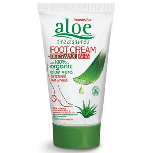 Foot Cream Beeswax AHA 120ml