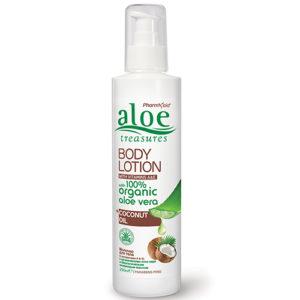 aloe body lotion coconut