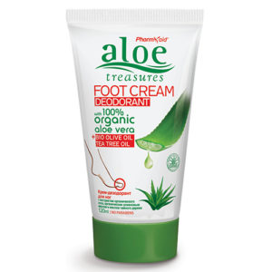 Aloe Treasures Foor Cream Deodorant 120ml