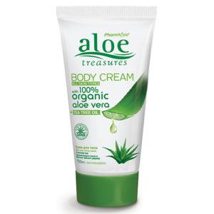 Aloe Treasures Body Cream Tea Tree Oil
