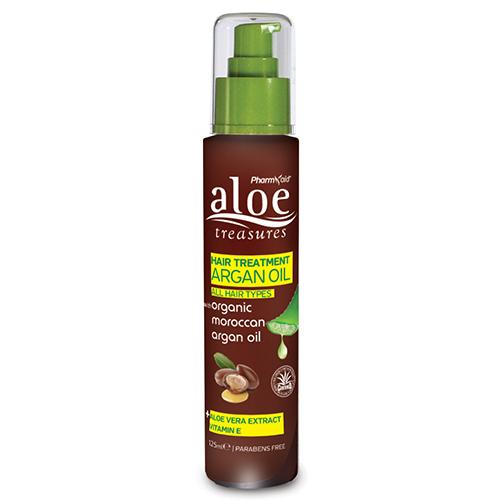 Aloe Treasures Hair Treatment Argan Oil