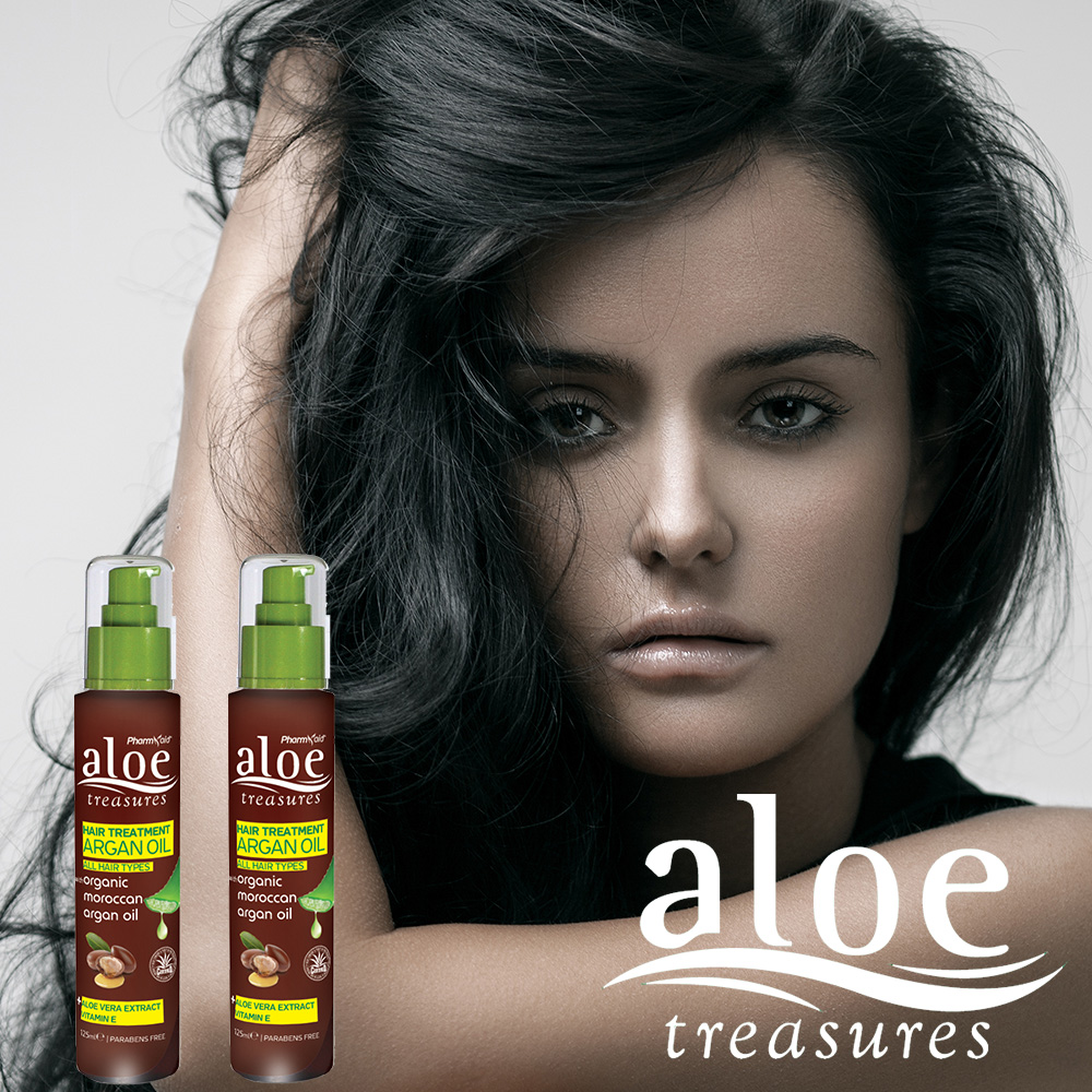 Aloe Hair Treatment Argan Oil