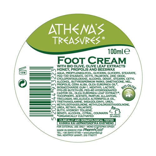 Foot Cream Honey info 100ml