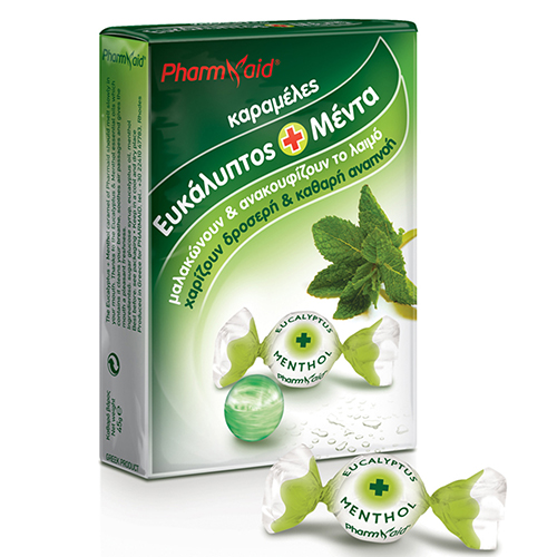 Pharmaid Karamels Eucalyptus & Menthol 45gr