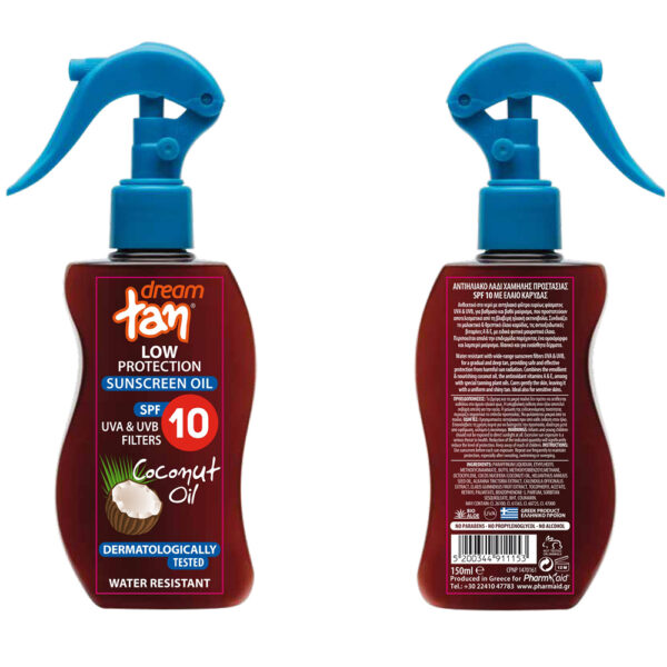 Sunscreen Coconut Oil Low Protection SPF 10′