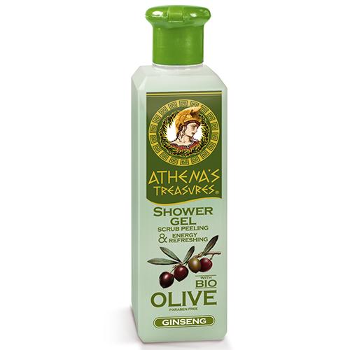 Shower Gel Scrub Peeling Ginseng 250ml